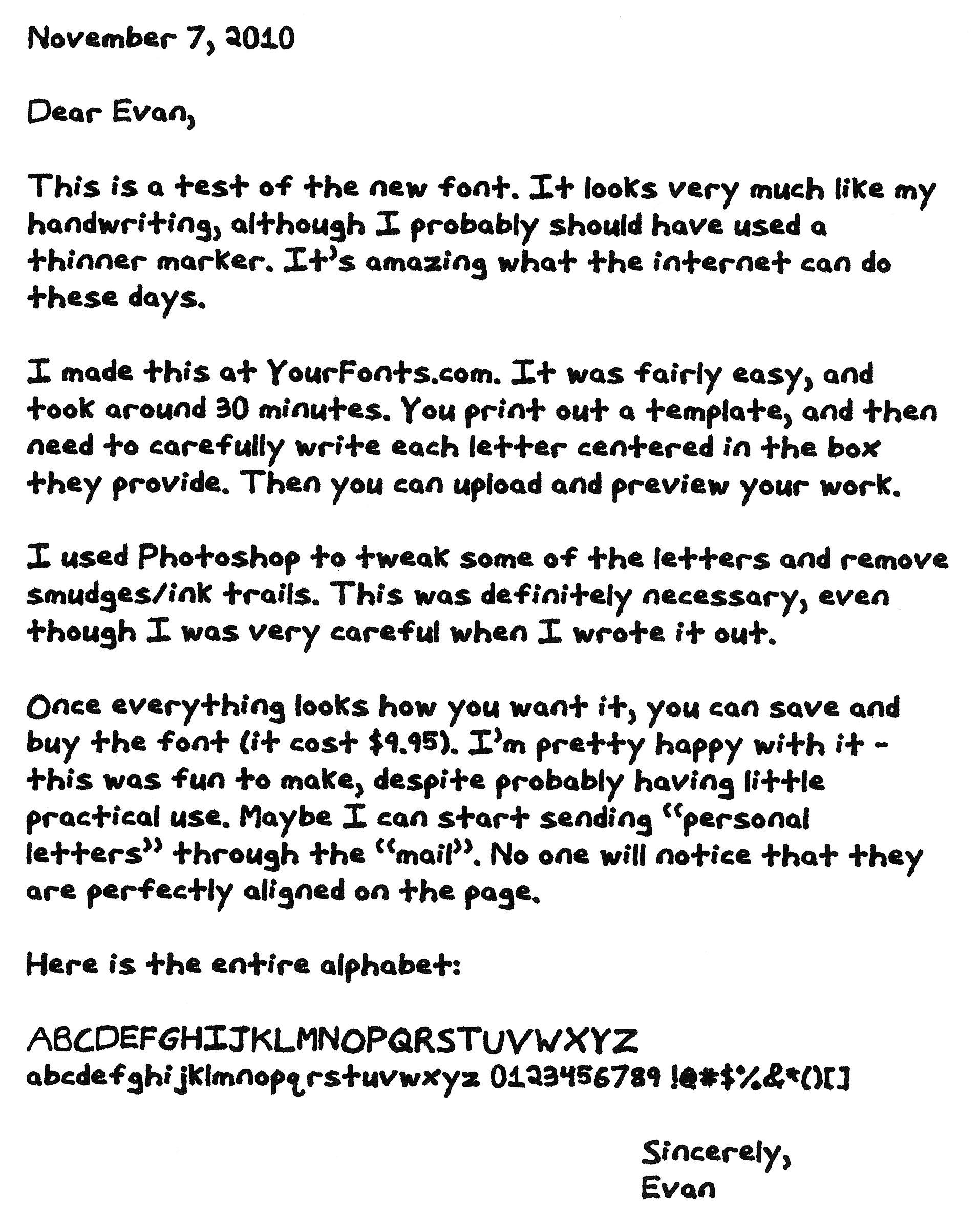Personal Letter Format Handwritten Rent Interpretomics Co